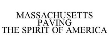 MASSACHUSETTS PAVING THE SPIRIT OF AMERICA