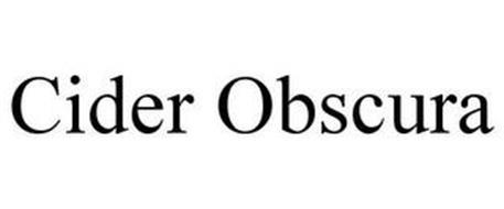 CIDER OBSCURA