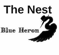 THE NEST BLUE HERON