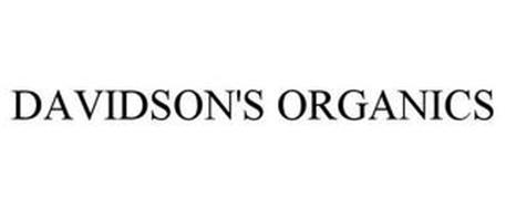 DAVIDSON'S ORGANICS