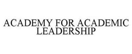ACADEMY FOR ACADEMIC LEADERSHIP