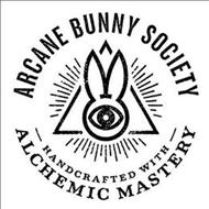 ARCANE BUNNY SOCIETY - HANDCRAFTED WITH - ALCHEMIC MASTERY