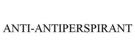 ANTI-ANTIPERSPIRANT