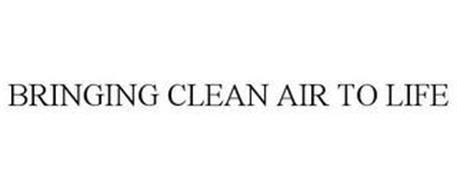 BRINGING CLEAN AIR TO LIFE