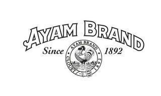 AYAM BRAND SINCE 1892 AYAM BRAND · CLOUET 1892
