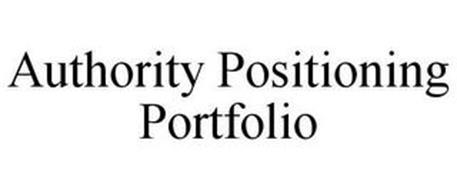 AUTHORITY POSITIONING PORTFOLIO