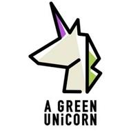 A GREEN UNICORN