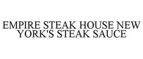 EMPIRE STEAK HOUSE NEW YORK'S STEAK SAUCE