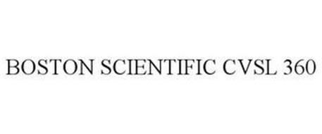 BOSTON SCIENTIFIC CVSL 360
