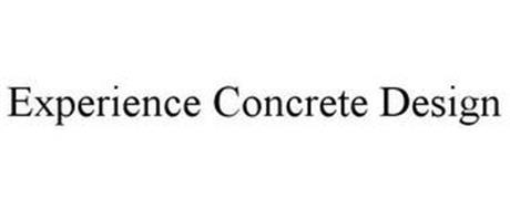 EXPERIENCE CONCRETE DESIGN