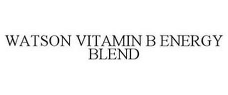 WATSON VITAMIN B ENERGY BLEND