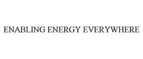 ENABLING ENERGY EVERYWHERE
