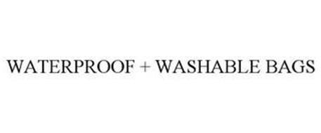 WATERPROOF + WASHABLE BAGS