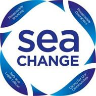 SEA CHANGE RESPONSIBLE SOURCING RESPONSIBLE OPERATIONS SAFE AND LEGAL LABOUR CARING FOR OUR COMMUNITIES