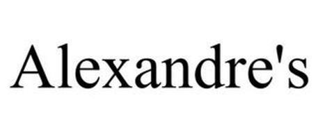 ALEXANDRE'S