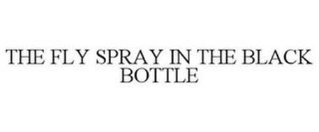 THE FLY SPRAY IN THE BLACK BOTTLE