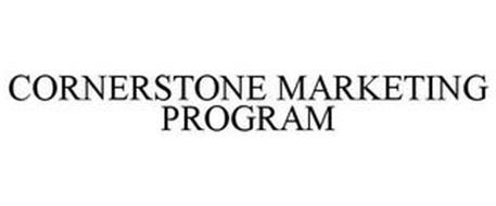 CORNERSTONE MARKETING PROGRAM