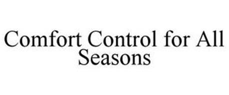 COMFORT CONTROL FOR ALL SEASONS