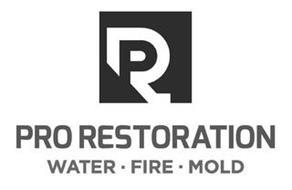 PR PRO RESTORATION WATER · FIRE · MOLD