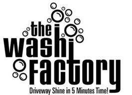 THE WASH FACTORY DRIVEWAY SHINE IN 5 MINUTES TIME!