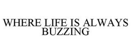 WHERE LIFE IS ALWAYS BUZZING