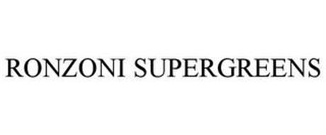 RONZONI SUPERGREENS