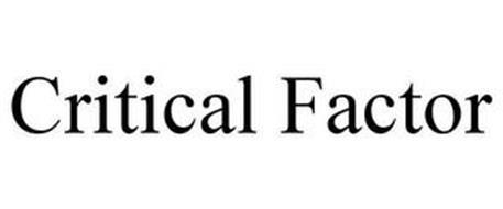 CRITICAL FACTOR