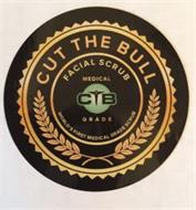CUT THE BULL FACIAL SCRUB MEDICAL GRADE CTB WORLDS FIRST MEDICAL GRADE SCRUB