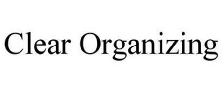CLEAR ORGANIZING
