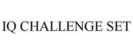 IQ CHALLENGE SET