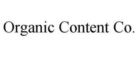 ORGANIC CONTENT CO.