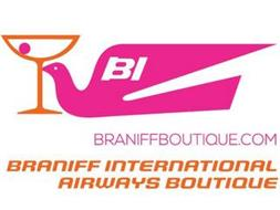 BI BRANIFF INTERNATIONAL AIRWAYS BOUTIQUE BRANIFFBOUTIQUE.COM