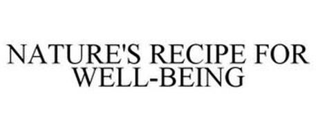 NATURE'S RECIPE FOR WELL-BEING