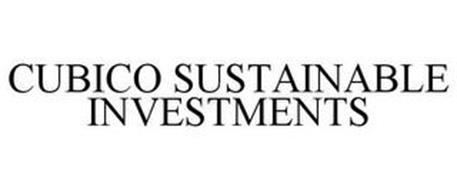 CUBICO SUSTAINABLE INVESTMENTS