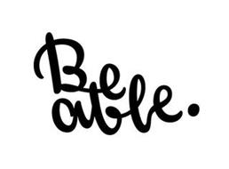 BE ABLE.