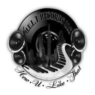 H.U.L.T RECORDS LLC. HOW · U · LIKE · THAT