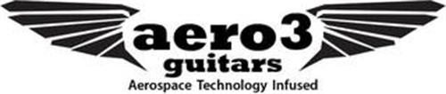 AERO3 GUITARS AEROSPACE TECHNOLOGY INFUSED