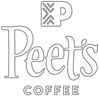 P PEET'S COFFEE