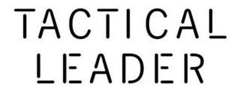 TACTICAL LEADER