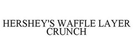 HERSHEY'S WAFFLE LAYER CRUNCH