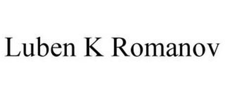 LUBEN K ROMANOV
