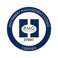 ANTI-BRIBERY MANAGEMENT SYSTEMS CERTIFIED RMG COMPLIANCE 37001