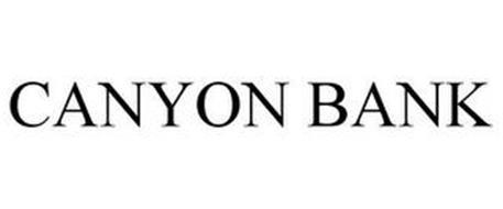 CANYON BANK