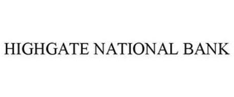 HIGHGATE NATIONAL BANK