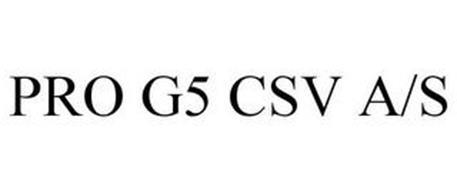 PRO G5 CSV A/S