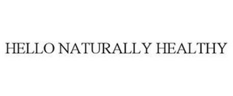 HELLO NATURALLY HEALTHY