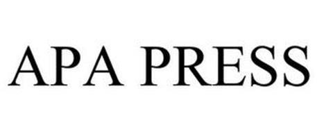 APA PRESS