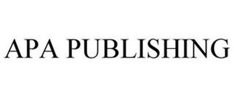 APA PUBLISHING