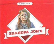 GRANDPA JON'S CHILI SAUCE