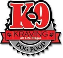 K-9 KRAVING ALL LIFE STAGES DOG FOOD